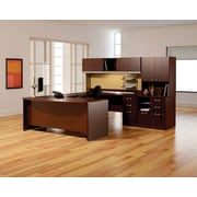 bush business furniture quantum rh storage tower modern cherry qt2826mck - Bush Office Furniture