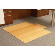 Anji Mountain Roll-Up Bamboo Chairmats, Natural