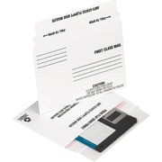 "Staples® QuickStrip 3-1/2"" Disk Mailers, 25/Pack"