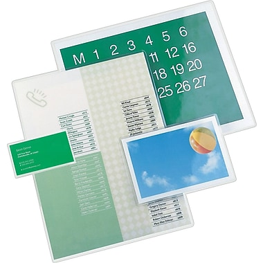 GBC SelfSeal Repositionable™ 8 mil Laminating Film Pouches 5/pack, (3747199)