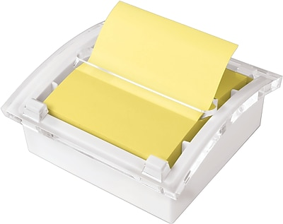 Post-it® Pop-Up Note Dispenser with White Base, 3