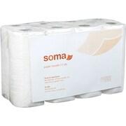 Soma™ Premium Paper Towel Rolls, 2-Ply, 8 Rolls/Case