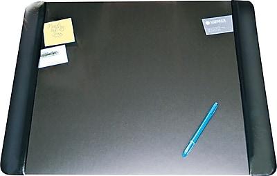 Artistic Desk Pad 19 x 24 Black Staples