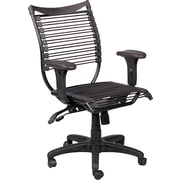Balt Seatflex Office Manager's Chair, Adjustable Arm, Black