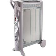 "Bionaire Micathermic Element Console Heater, 1,500 W, 6"" x 26 3/8"" x 21 1/4"", Gray (BH3950-U)"