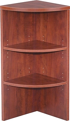 Alera Valencia 15'' 2-Shelf Bookcase, Cherry (VA621515MC)