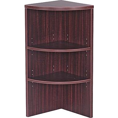 Alera Valencia 15'' 2-Shelf Bookcase, Mahogany (VA621515MY)