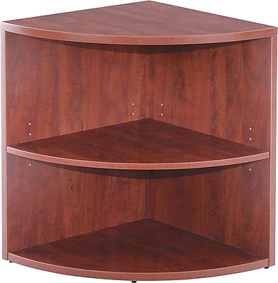 Alera Valencia 24'' 2-Shelf Bookcase, Cherry (VA622424MC)