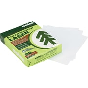 """Boise® Aspen™ Recycled Laser Paper, LETTER-Size, 96/108+ US/Euro Brightness, 24 Lb., 8 1/2""""H x 11""""W, 500 Sheets/Rm"""