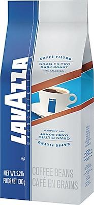 Lavazza® Gran Filtro Dark Roast Whole Bean Coffee, Regular, 2.2 lb. Bag