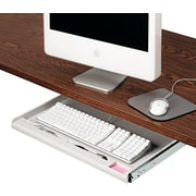 Innovera® Standard Underdesk Keyboard Drawer, Light Gray (IVR53000)