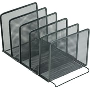 Rolodex Mesh Stacking Sorter, Black (22141)