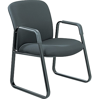 Safco® Uber Big and Tall Guest Chair, Black