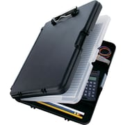 "WorkMate II, 8.75 x 12.25, 6 Internal compartments, 3/4"" cap, Low Prof Clip, Black"