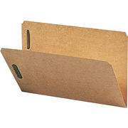 "Smead Kraft Folders with Two Fasteners, Straight Cut, Legal,-size Holds 8 1/2"" x 14"", 50/Bx"