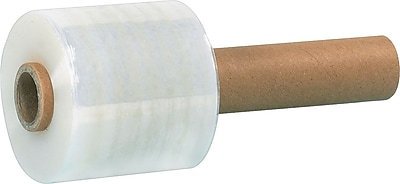 Extended-Core Bundling Stretch Film, 80 Gauge, 3