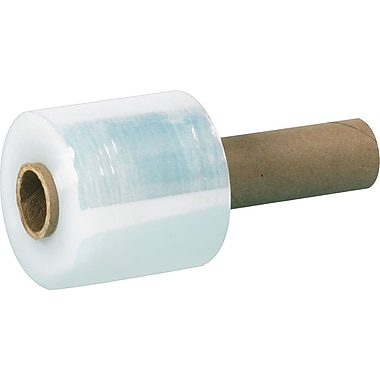 Extended-Core Bundling Stretch Film, 100 Gauge, 3