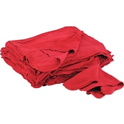 Shop Towels, Red, 14 x 15, 50/Pk