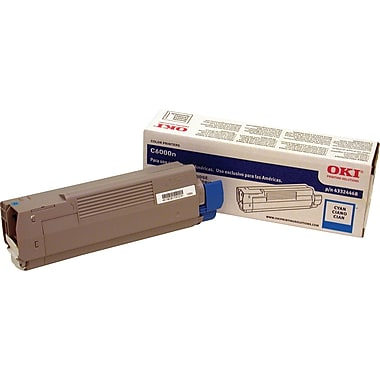 Okidata Cyan Toner Cartridge (43324468)