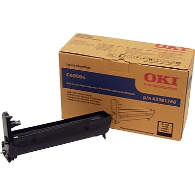 Okidata Black Drum Cartridge (43381760)