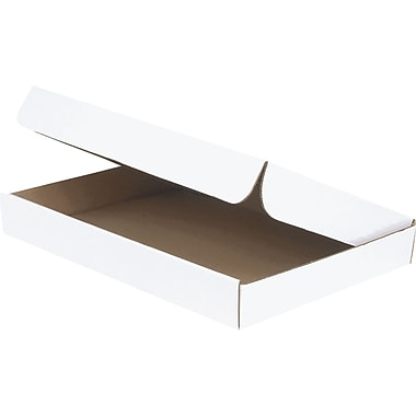 White Corrugated Document Mailers, 15-1/8