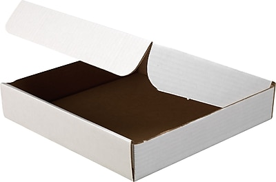 White Corrugated Document Mailers, 11-3/4