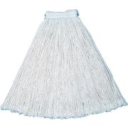 Rubbermaid V Series Cotton-Cut End Wet Mop Head, #16, White