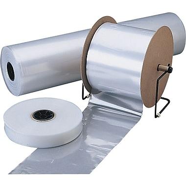 Gaine tubulaire transparente en polyéthylène 2 mil, 18 po x 1 500 pi