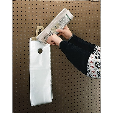 Newspaper and Hanging Literature Bags with Doorknob Hang Hole, 6