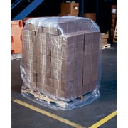 "Gemini Plastics Polyethylene Super Blend Bags 76"" X 54"""