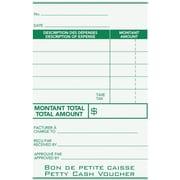 Staples® Petty Cash Vouchers, Bilingual