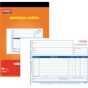Staples® Purchase Order Forms, Bilingual
