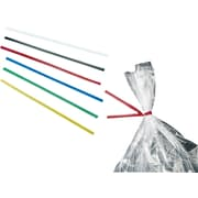 "Paper Twist Ties, 4"", Red, 2,000/Box"