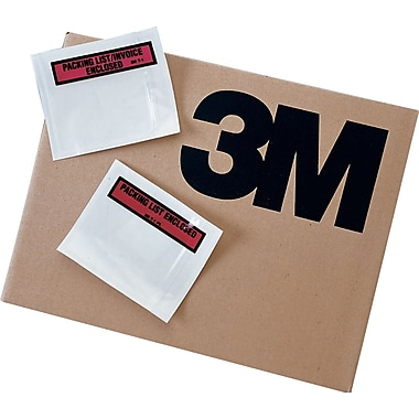 3M Packing List Envelope - Packing List Enclosed, 4 1/2