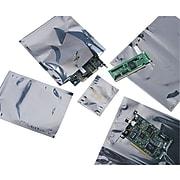 "4""W x 6""L Static Shielding Lay Flat Poly Bag, 2.0 Mil, 100/Carton (4105)"