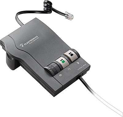 Plantronics® Vista™ M22 Amplifier with Clearline™ Audio