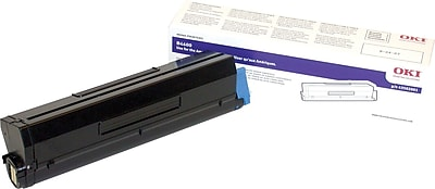 Okidata Toner Cartridge, 44059236, High Yield, Black