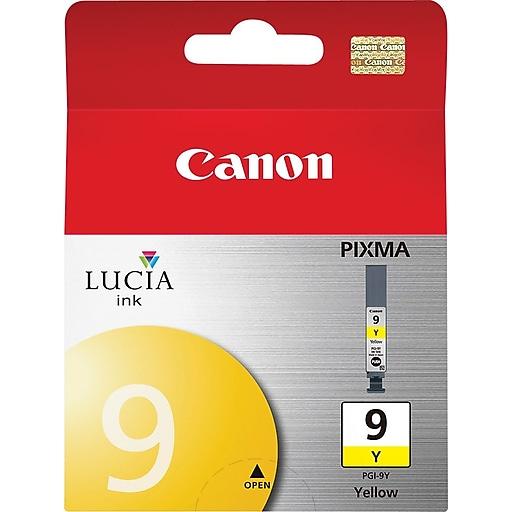 canon pgi 9y yellow ink cartridge 1037b002 staples. Black Bedroom Furniture Sets. Home Design Ideas