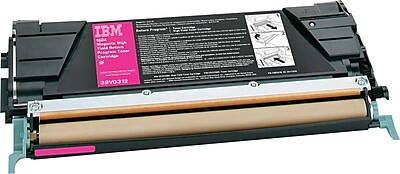 InfoPrint Toner Cartridge, 39V0312, High Yield, Magenta