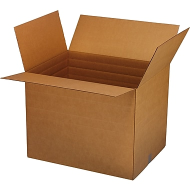 Vari-Depth Corrugated Boxes, 17-1/4