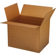 "Vari-Depth Corrugated Boxes, 15"" x 11-1/8"" x 6"", 25/Bundle"
