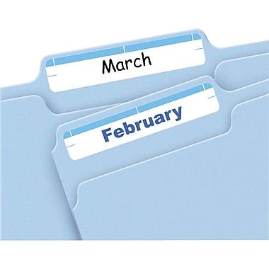 Avery Print & Write Light Blue File Folder Labels, 252/Pack