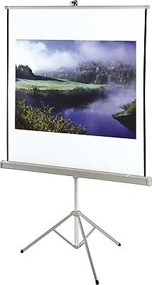 Quartet® Portable Tripod Projection Screen, 50