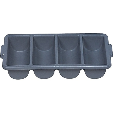 Rubbermaid® - Bac à coutellerie, gris