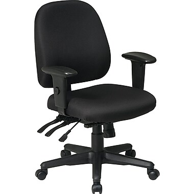 Office Star Fabric Computer and Desk Office Chair Black