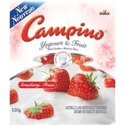 Campino® Yogurt and Fruit Hard Candy, Strawberry, 120g