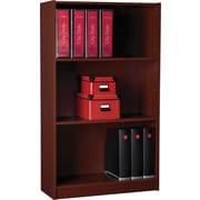 "Staples® Hayden™ Cherry Finish Bookcase, 3-Shelf, 48"""