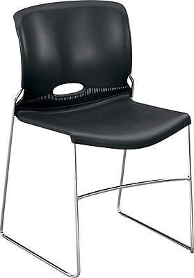 HON Olson High-Density Stacking Chair, Lava Shell NEXT2018 NEXT2Day