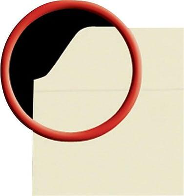 Staples File Folders, Reinforced Straight-Cut Tab, Letter Size, Manila, 100/Box (508820)