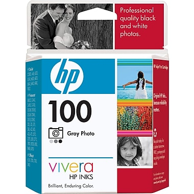 HP 100 Gray Photo Ink Cartridge (C9368AN)